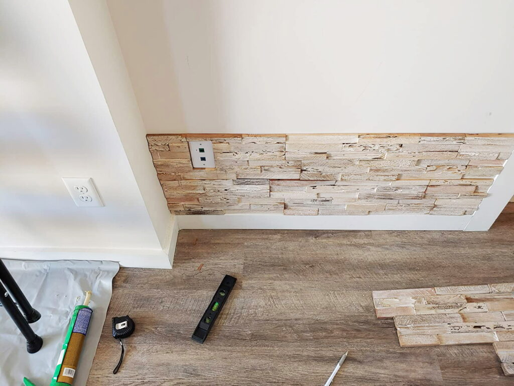 Weathered White - 3D Wall Panels