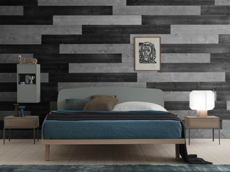 Charcoal, Gray - Peel and Stick Planks - WoodyWalls