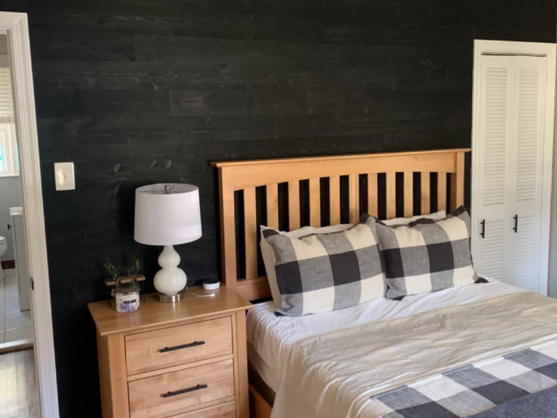 Charcoal - Peel And Stick - Bedroom