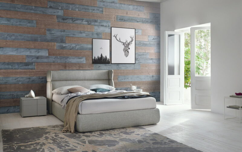 Natural Gray, Warm Sand - Peel And Stick Planks - Woodywalls