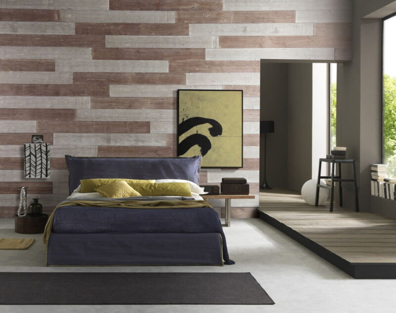 Old Brown, Warm Sand - Peel And Stick Planks - Woodywalls