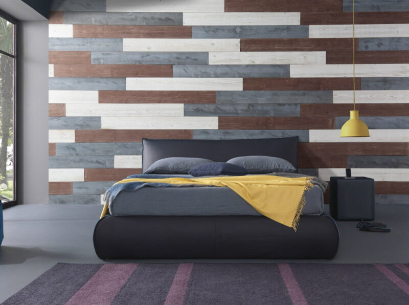 White, Natural Gray, Old Brown - Peel And Stick Planks - Woodywalls