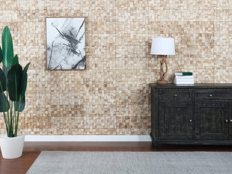 White Square - 3D Wall Panels | Reclaimed Wood - WoodyWalls