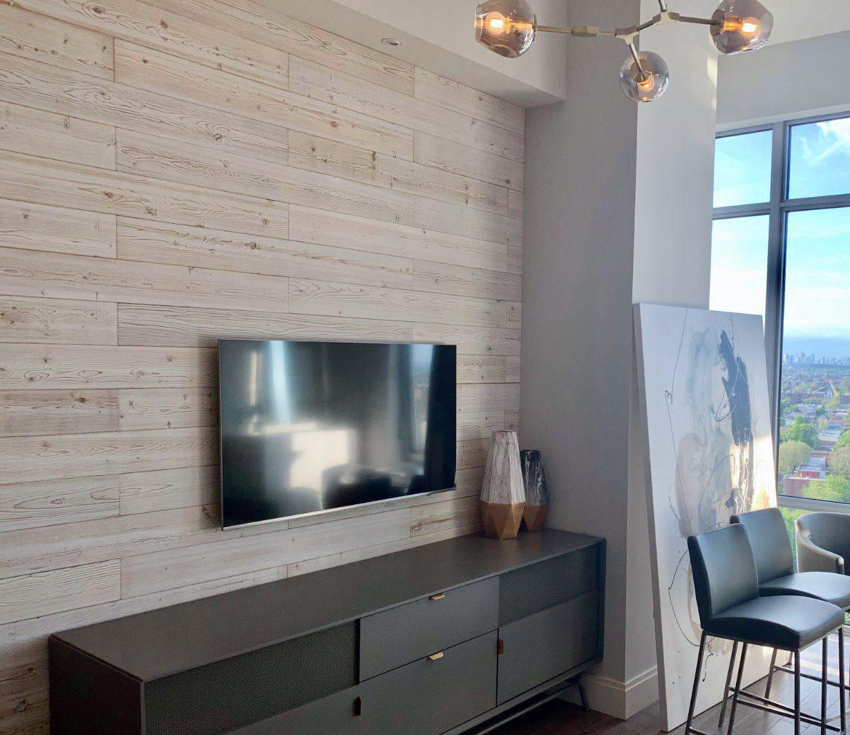 White Washed - Living room